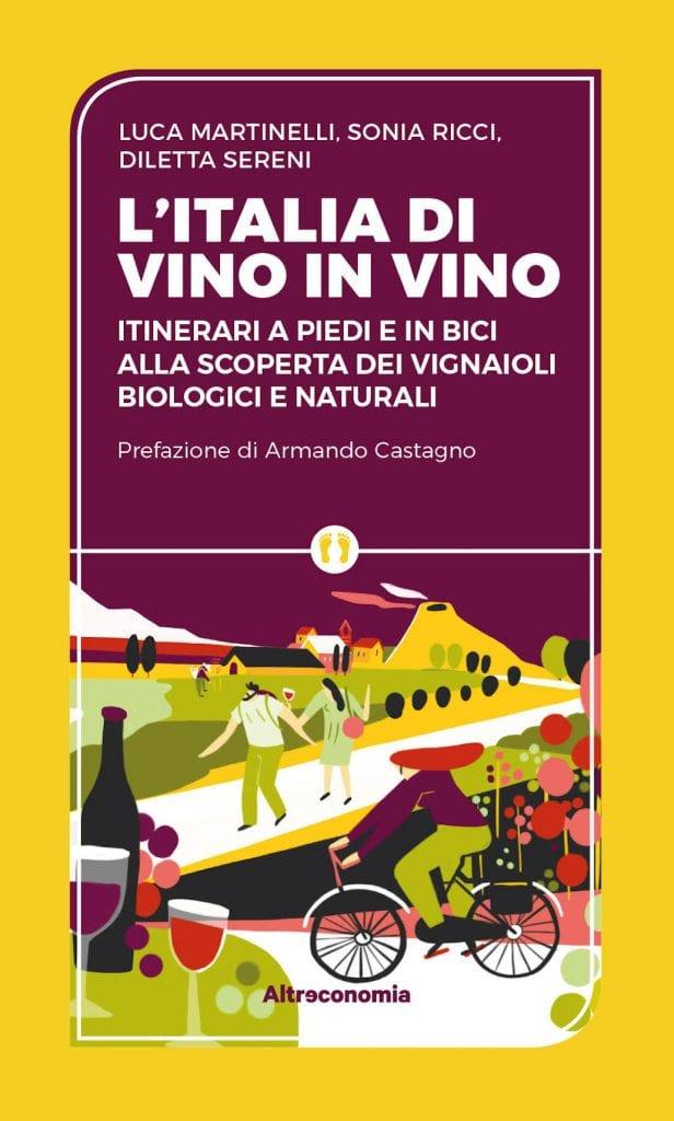 L'italia di vino in vino copertina del libro
