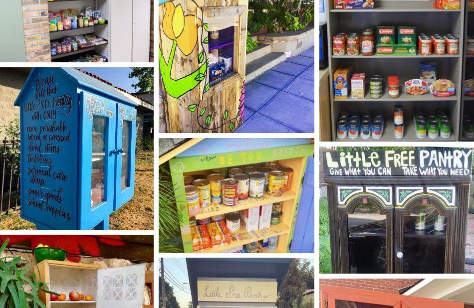 Le dispense di cibo di quartiere del movimento Little Food Pantry