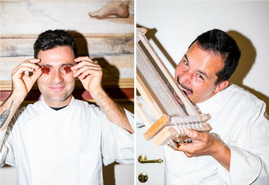 Luca Lacalamita e Alessandro Della Tommasina. Foto di Alberto Blasetti