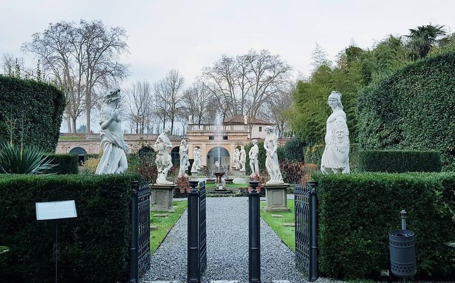 il giardino di Palazzo Pfanner