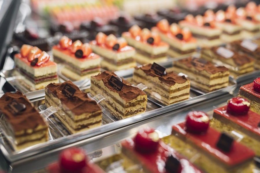 Monoporzioni dessert nel banco di Iginio Massari