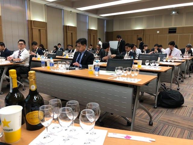 Masterclass in Japan with La Gioiosa Wine