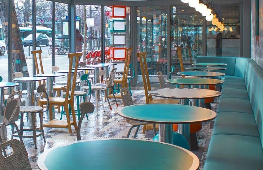 La sala di design di McDonald's a Parigi