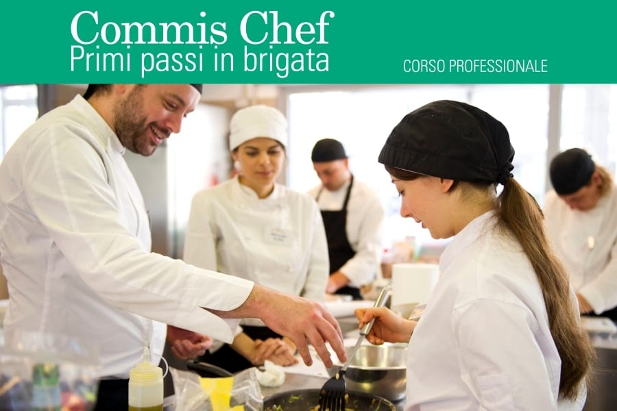 Professione commis chef primi passi in brigata gambero for Commis di cucina stipendio