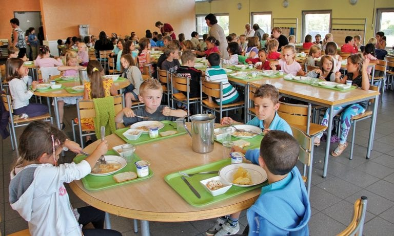 Image result for Packed lunches  in Italian schools