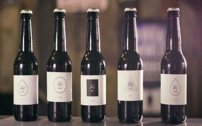 AI beer. It happens in London, where brews change according to customer feedback