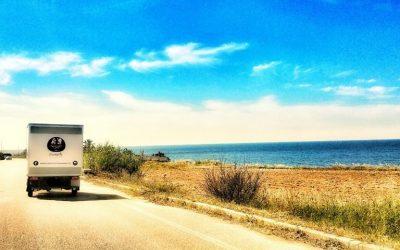 L'apecar di Mozzapella sul litorale salentino