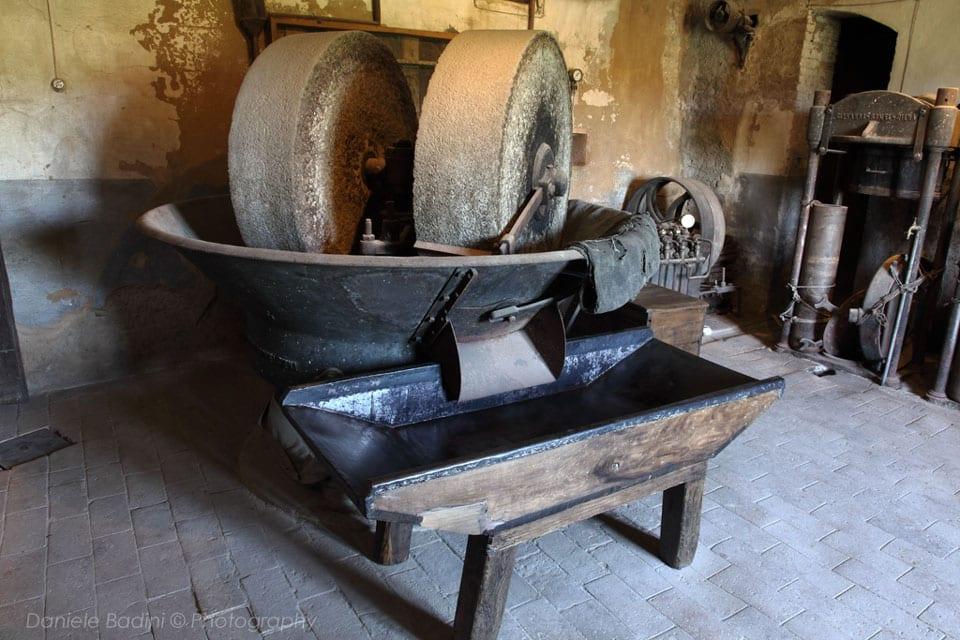 Museo dell'olio, Seggiano (foto di Daniele Badini per Fondazione Le Radici di Segginao)