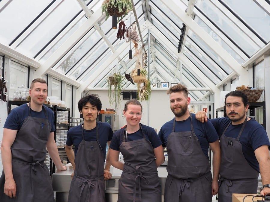 Alcuni chef del Noma