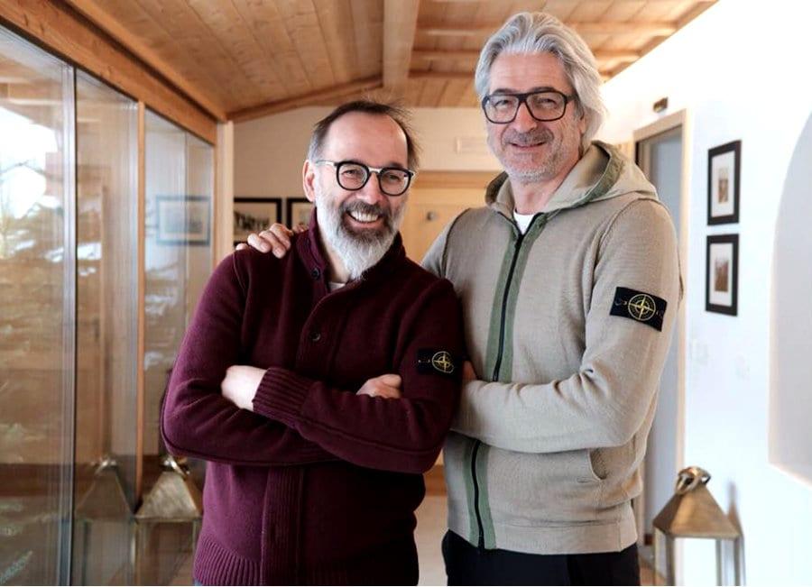 Norbert Niederkofler e Paolo Ferretti