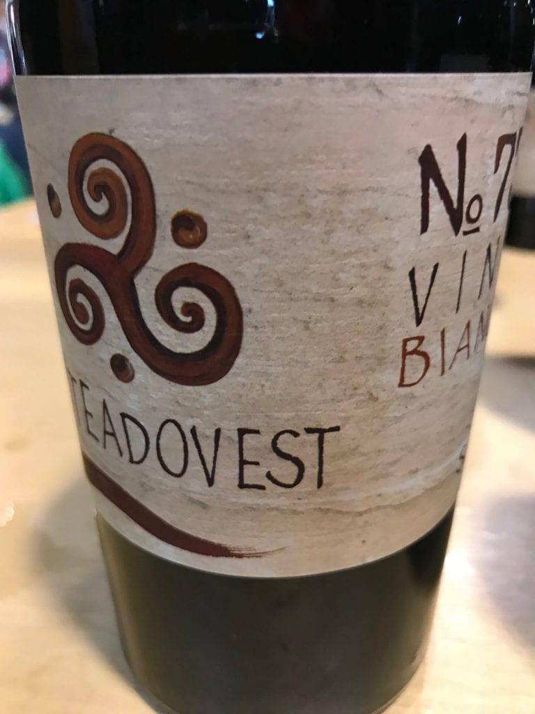 bottiglia numero 7 viteaovest