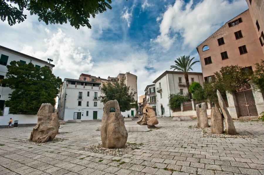 Piazza Sebastiano Satta a Nuoro. Foto di Alessandro Cani