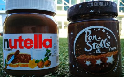 Nutella vs Pan di Stelle. Profumo, gusto e proprietà nutrizionali a confronto