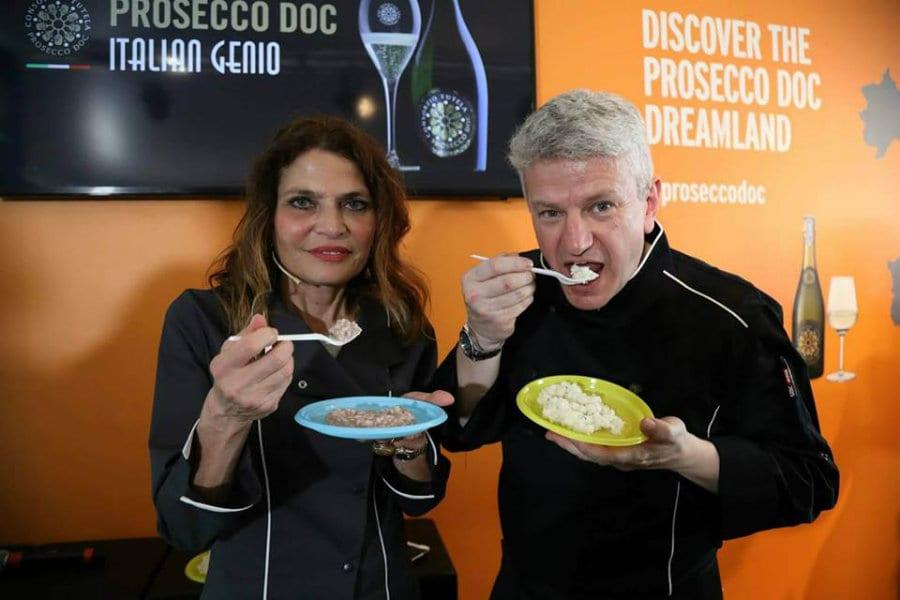 Olga Bussinello e Luca Giavi