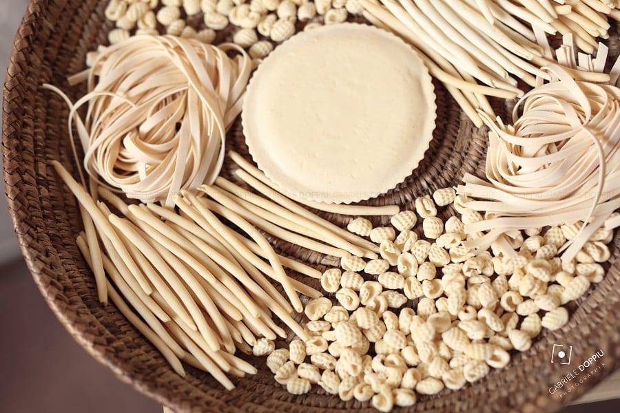 Oliena, pasta tipica. Foto Gabriele Doppu