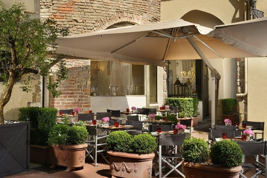 Osteria della Pagliazza dell'Hotel Brunelleschi a Firenze