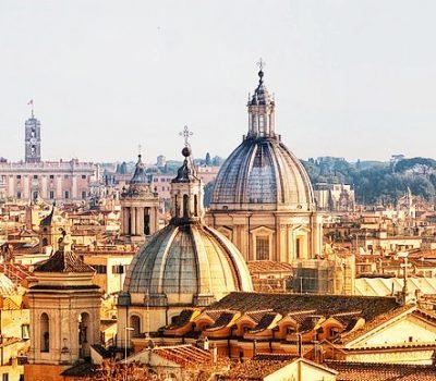Vista panormaica di Roma