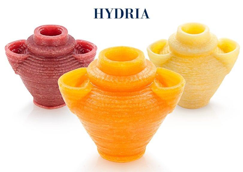 Pasta 3D, Hydria