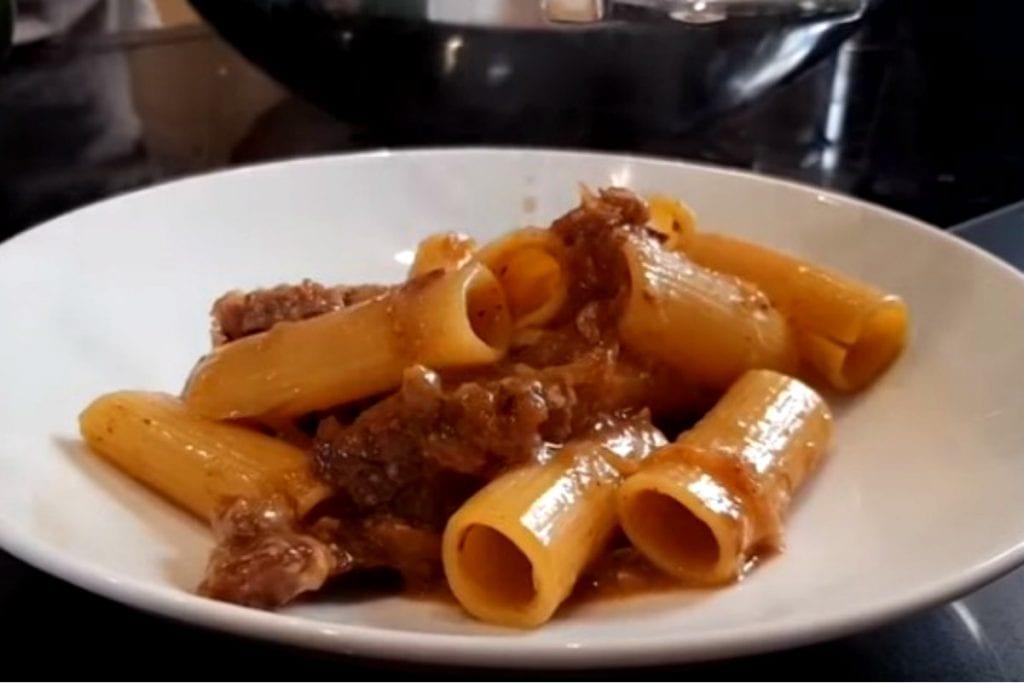 Pasta alla genovese by chef Max Mariola