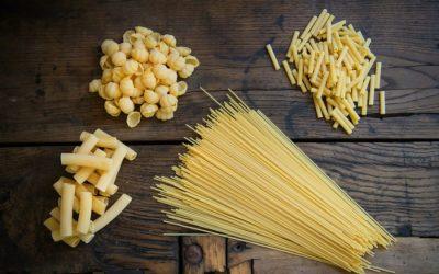 Vari tipi di pasta secca