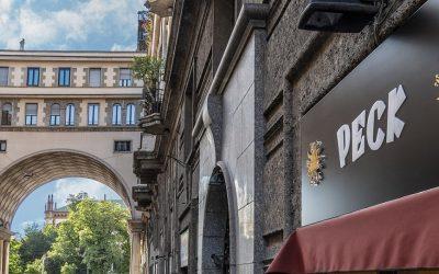 Il nuovo negozio Peck a Porta Venezia