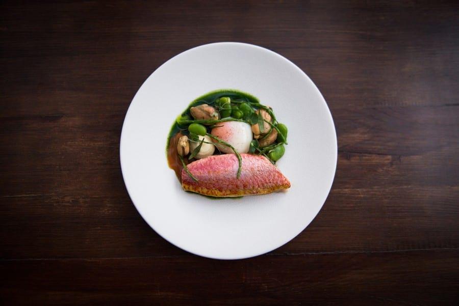 Piatto di Diogo Noronha del ristorante Pesca