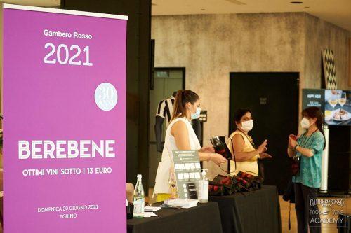 Berebene 2021 Torino. Degustazione