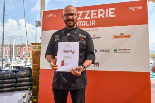 Pizzerie d'Italia 2020 del Gambero Rosso- Evento di premiazione