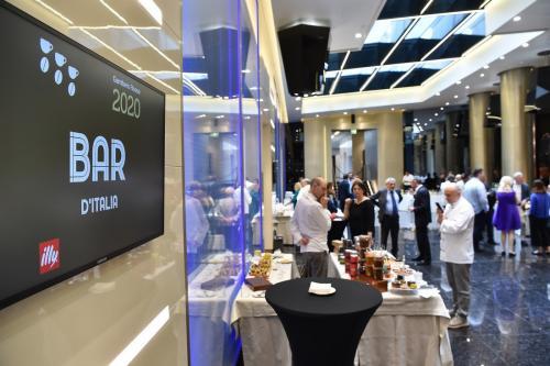Evento di premiazione guida Bar d'Italia 2020 del Gambero Rosso