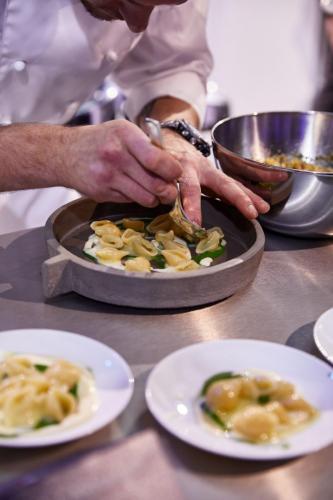 I piatti presentati dagli chef italiani
