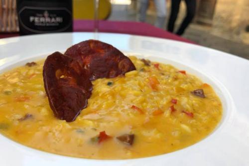 Piatti della Bottega degli Antichi Sapori ad Aosta