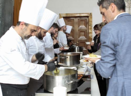 Degusta con il Talent. Oli d'Italia, Tre Bicchieri Verdi con Giorgione