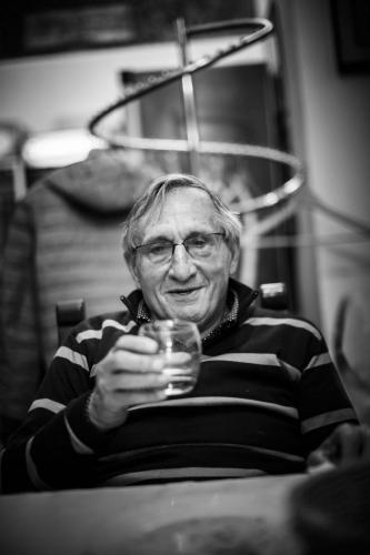 Papà Tanino. Foto Andrea Moretti