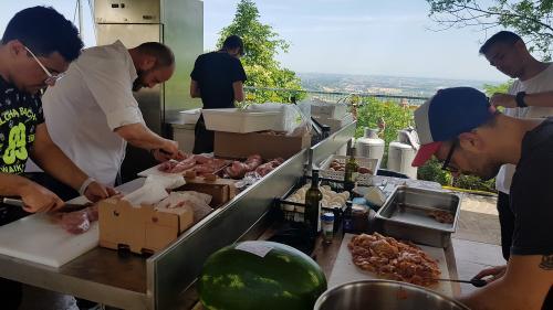 Spessore a Torriana: cuochi, assaggi, idee
