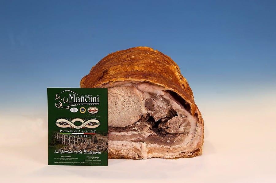 Porchetta di Mancini la Norcineria dal 1870