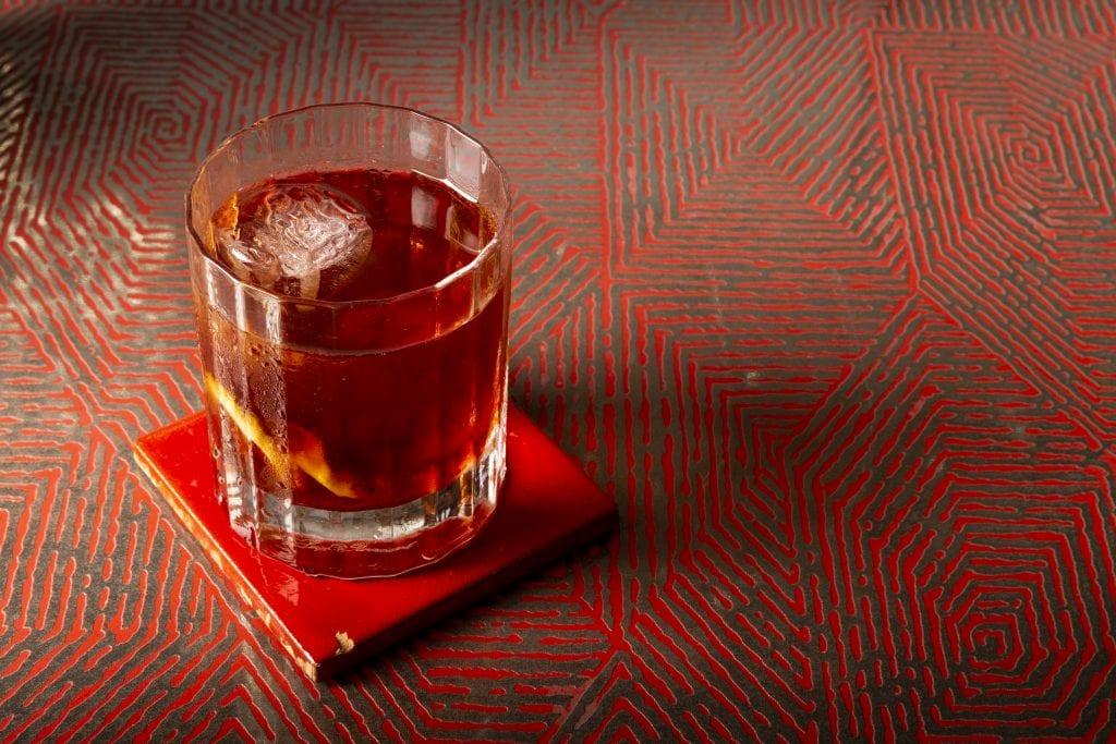 Lo Sventato. Uno dei cocktail finalisti al Premo Strega Mixology