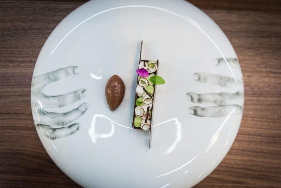 Piatto di  Rui Silvestre del ristorante Quorum