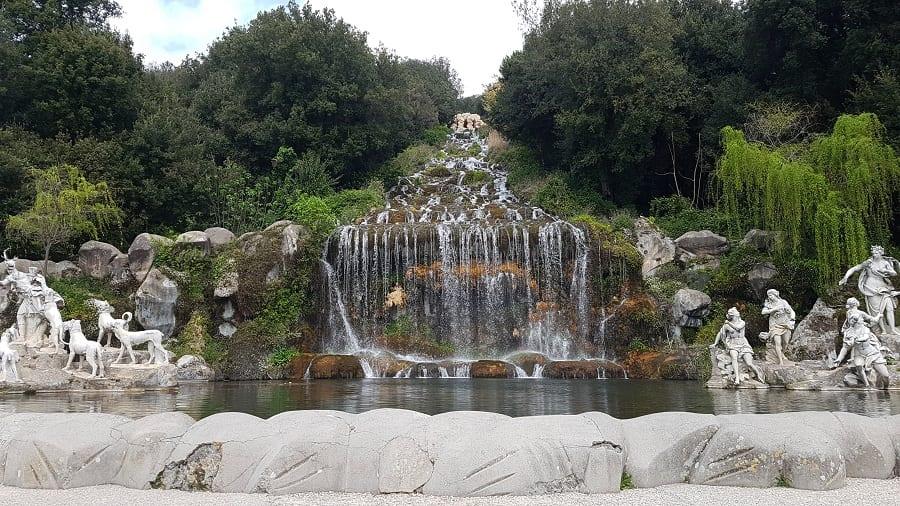La fontana di Diana e Atteone alla Reggia di Caserta