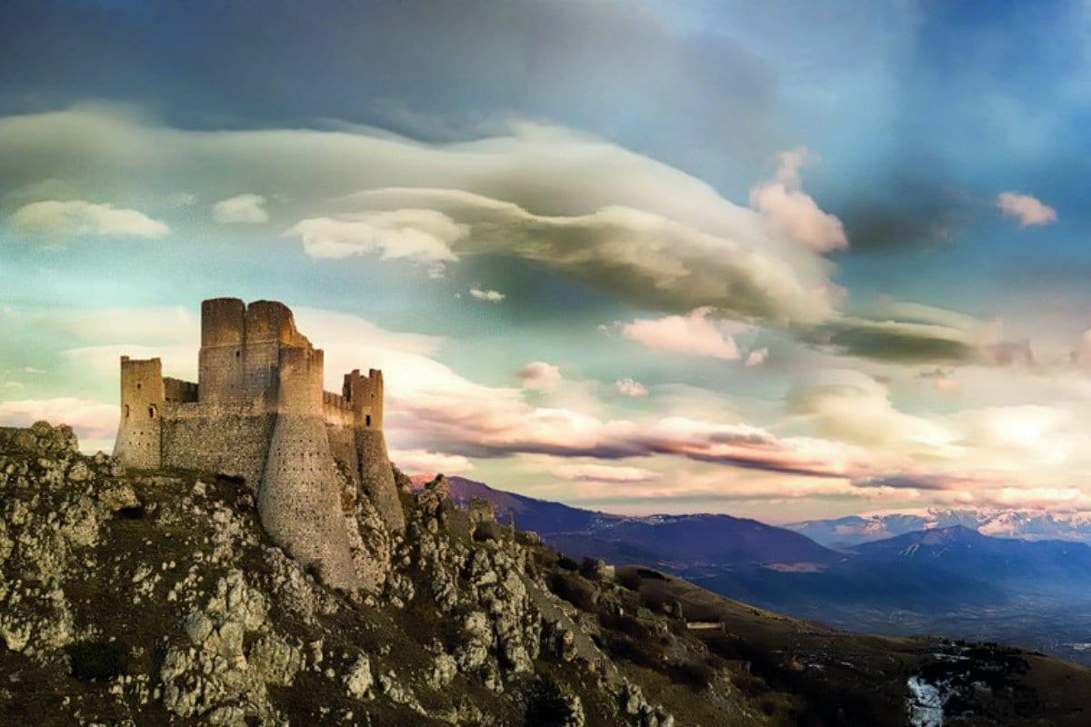 App Percorsi del Consorzio Tutela Vini d'Abruzzo. Rocca Calascio