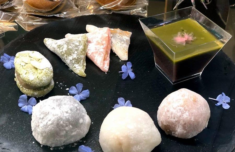 mochi e dolci giapponesi da Hiromi Cake