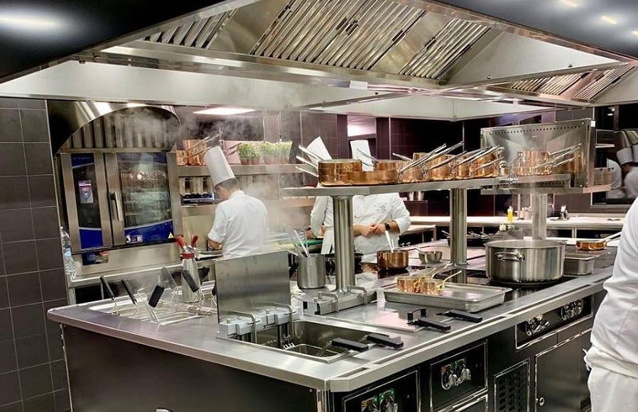 la cucina di Don Alfonso a San Barbato