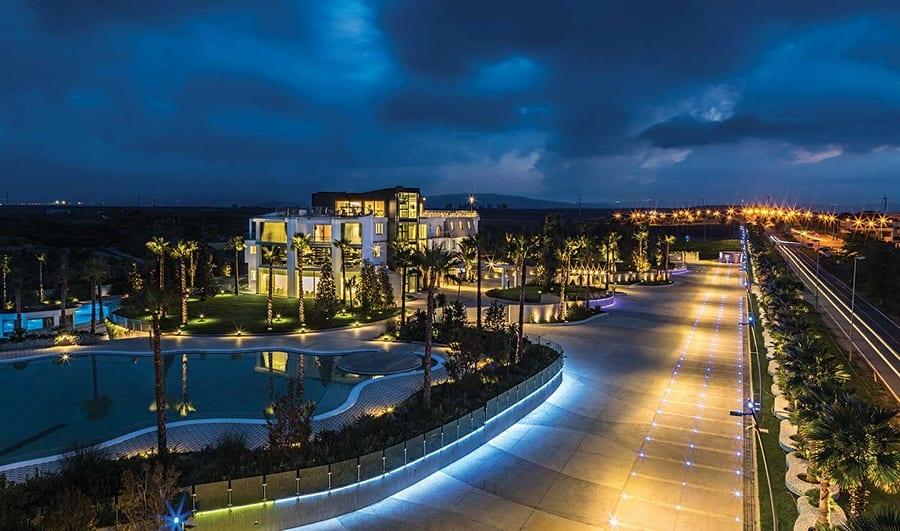 Panorama del San Barbato Resort di Lavello