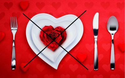 San Valentino. Il menu speciale perde smalto?