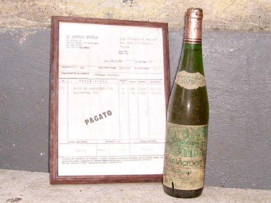 Prima bottiglia di falanghina