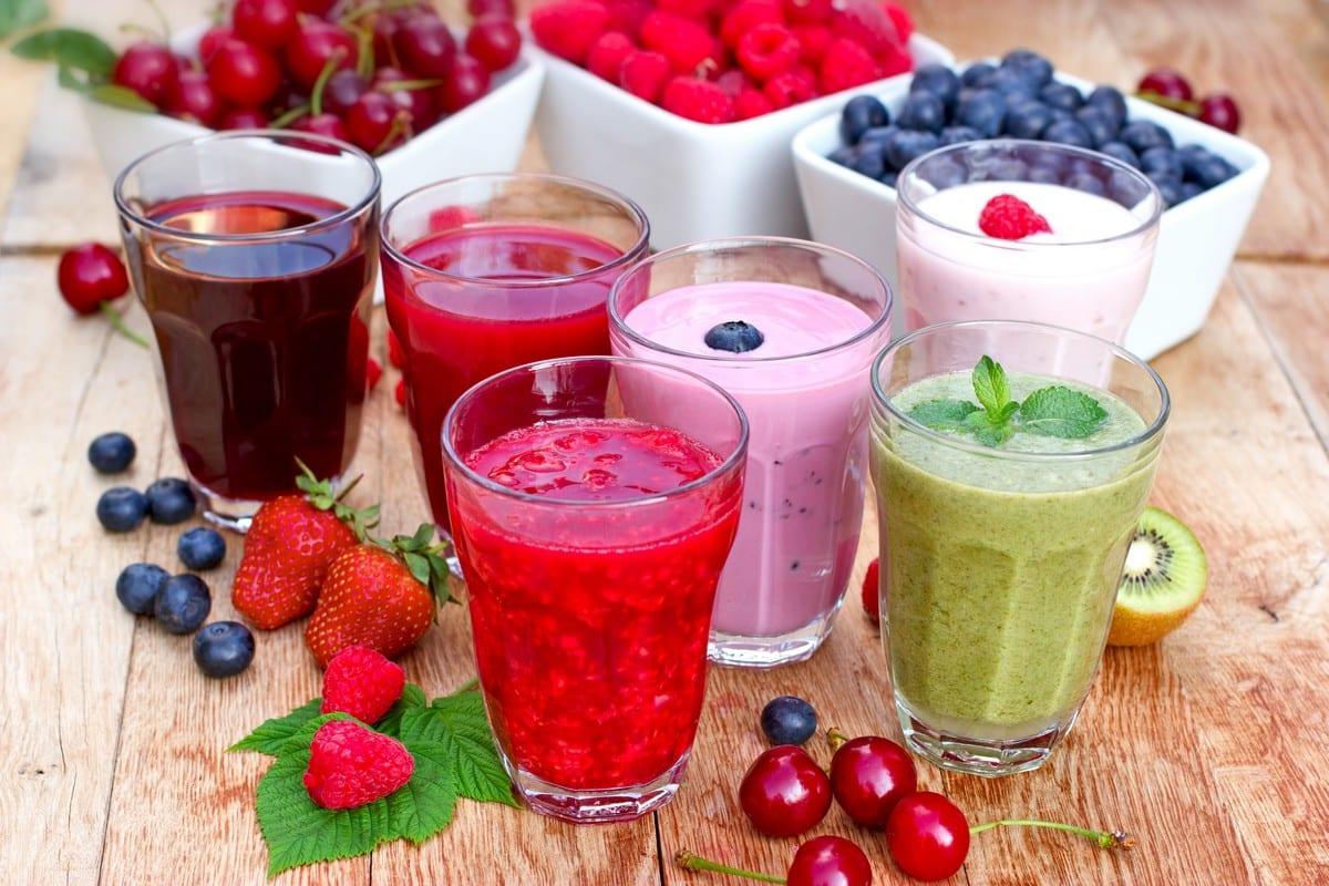 Bevande estive - sei tipi di smoothies