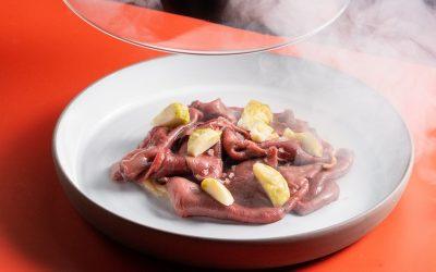 Un piatto del ristorante Trequarti