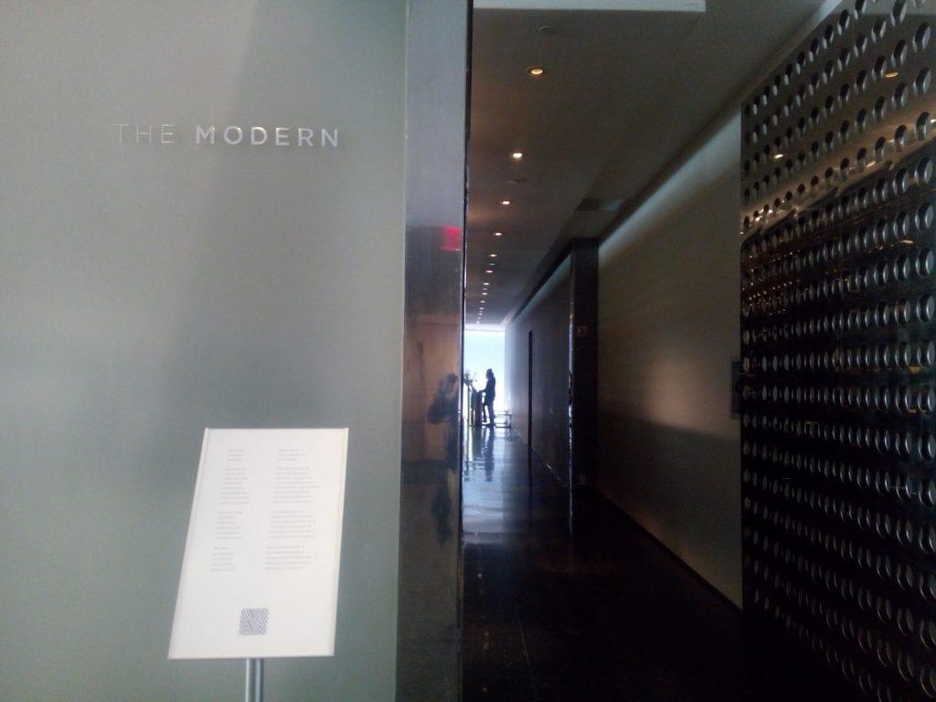 the modern ingresso