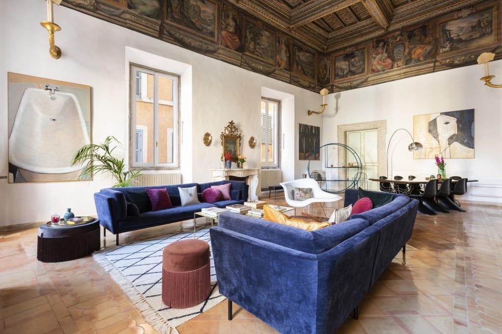 The Grand Palace Soggiorno, uno degli appartamenti di The Grand House