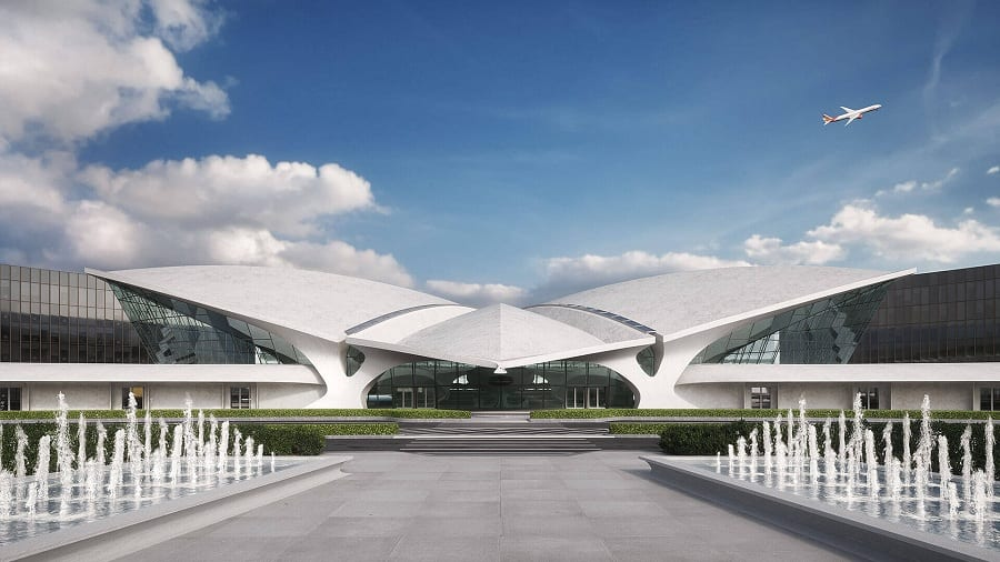 Lo storico terminal Twa al JFk Airport