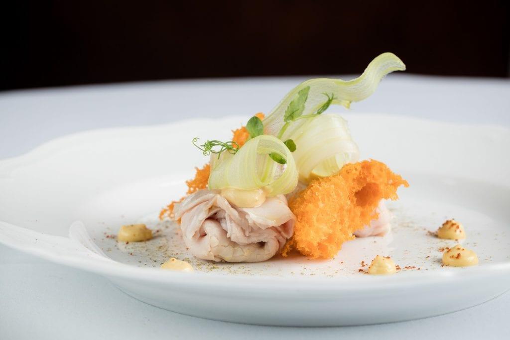 Viel tuna un piatto di Castella di Hong Kong